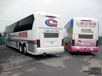 Coach Canada - Trentway-Wagar 85006 - 2007 MCI J4500 (Safeway Tours) and 86018