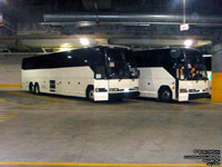 AZ Bus Tours 3593 and 3659 - Prevost H3-45
