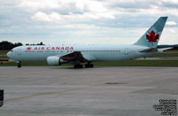 Air Canada - Boeing 767-35H(ER) - C-GHLA - FIN 656 (Leased from CIT Leasing Corporation - Ex-Air Europe (EI-CJA), Balair (HB-IHT) and Canadian Airlines International. Transferred to Ansett Australia June 2001-November 2001, Now transferred to Air Canada Rouge.)