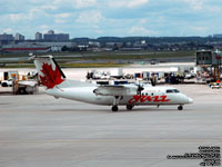 Air Canada Jazz - Bombardier Dash 8 Q100 - C-GCTC - FIN 846 (Transfered to Air Canada Express)