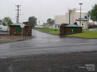 Old (WWII era) gates at the Pendleton airport- PDT - KPDT