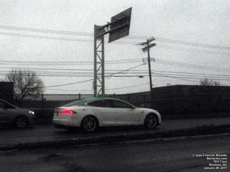 TEO Taxi - Tesla Model S