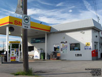 Shell gas station - bus agency, Plessisville,QC