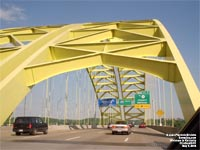 Pont de l'Interstate 471 - Daniel Carter Beard - Big Mac - Bridge au dessus de l'Ohio River, Cincinnati,OH - Newport,KY