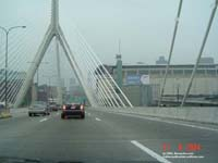 Pont Leonard P. Zakim - Bunker Hill, Boston