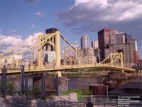 Pont Roberto Clemente, Pittsburgh