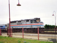 Amtrak 311 - F40PHR (6th order - Build with internal parts from SDP40F 601) - It was owned by Rail World Locomotive Lease, then leased to Montreal's AMT, Acadian (w/ ex-AMTK 293) and NJ Transit before going to Virginia Railway Express V35