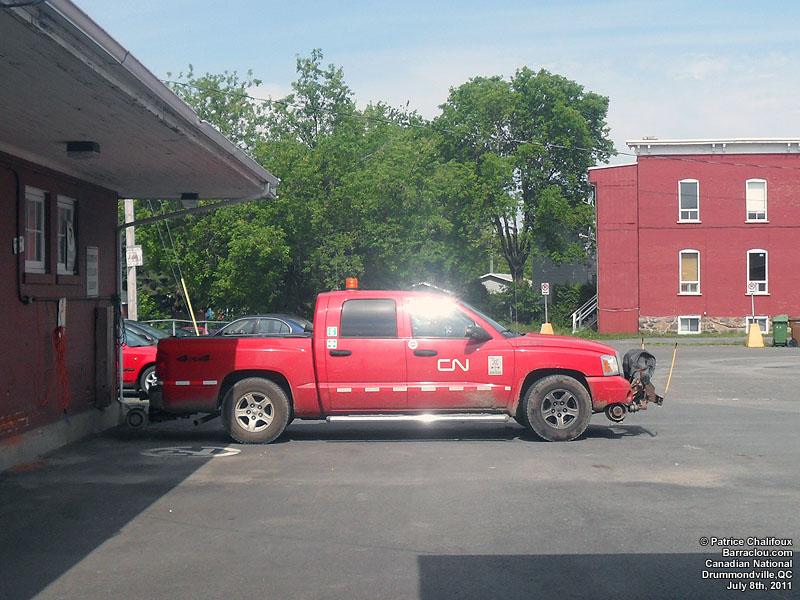 CN Dodge Dakota Hyrail, July 82011 Commercial vehicle