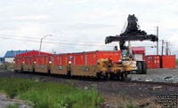 TTX double stack car in Rouyn-Noranda,QC