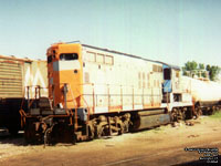 GMRC 901  - GP9 (ex-MBTA 901, nee GTW 4908) (Now used as parts unit in Burlington,VT)