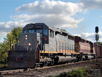 GCFX 6032 - SD40-3 (To WC 6902, then Texas Rock Crushers 125 - Ex-CN 5173)