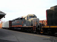 QGRY 6042 - SD40-3 (To BPRR 3330 - ex-GCFX 6042, nee CN 5189)