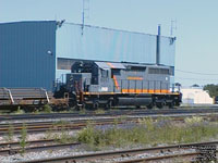 QGRY 6057 - SD40-3 (To QGRY 3334 - ex-GCFX/WC 6057, nee CN 5193)