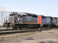WC 6914 - SD40-3 (To AGPX 6914 - ex-GCFX 6044,  nee CN 5143)
