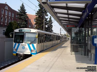 Edmonton Light Rail 1002 - 1977 Siemens U2