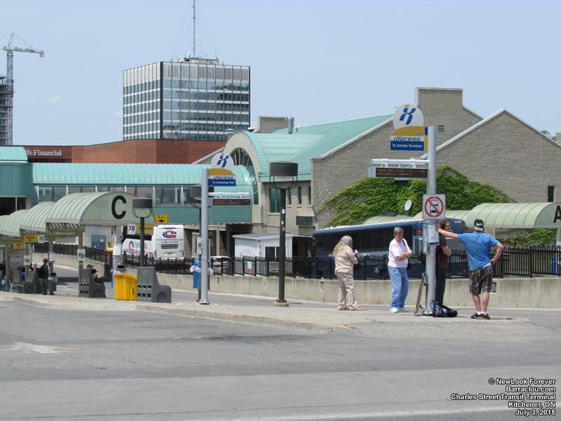 Kitchener Bus Terminal Charles Street