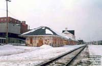 Sherbrooke, Quebec (Ex-CN Station / SLR Trackage - Not In Use at that time)