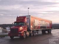 Goyette semi with Canadian Tire / Motomaster trailer