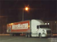 Canada Cartage tractor and a Motomaster - Canadian Tire - trailer